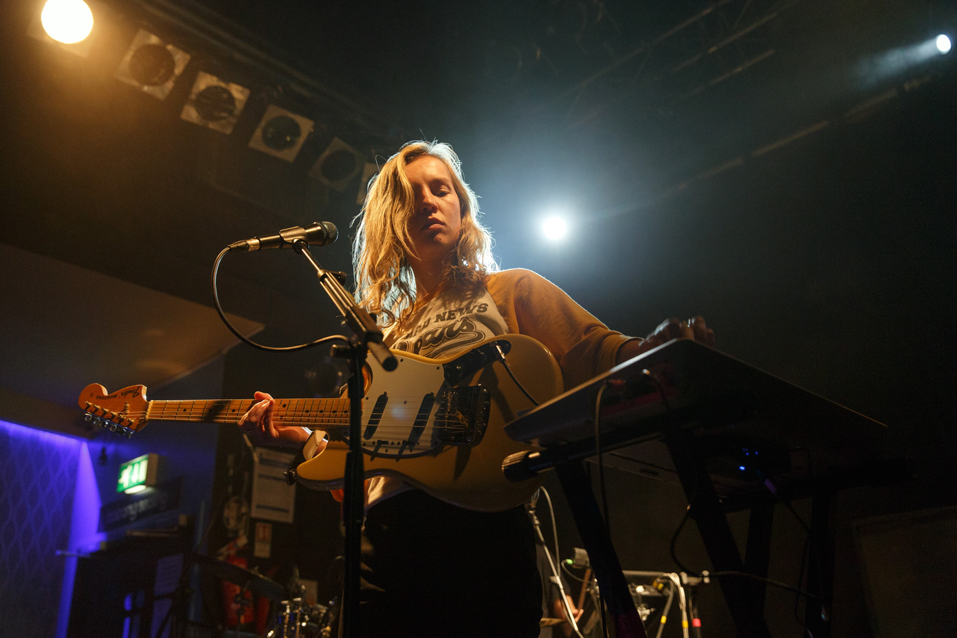 The Japanese House on stage at the O2 Academy Newcastle