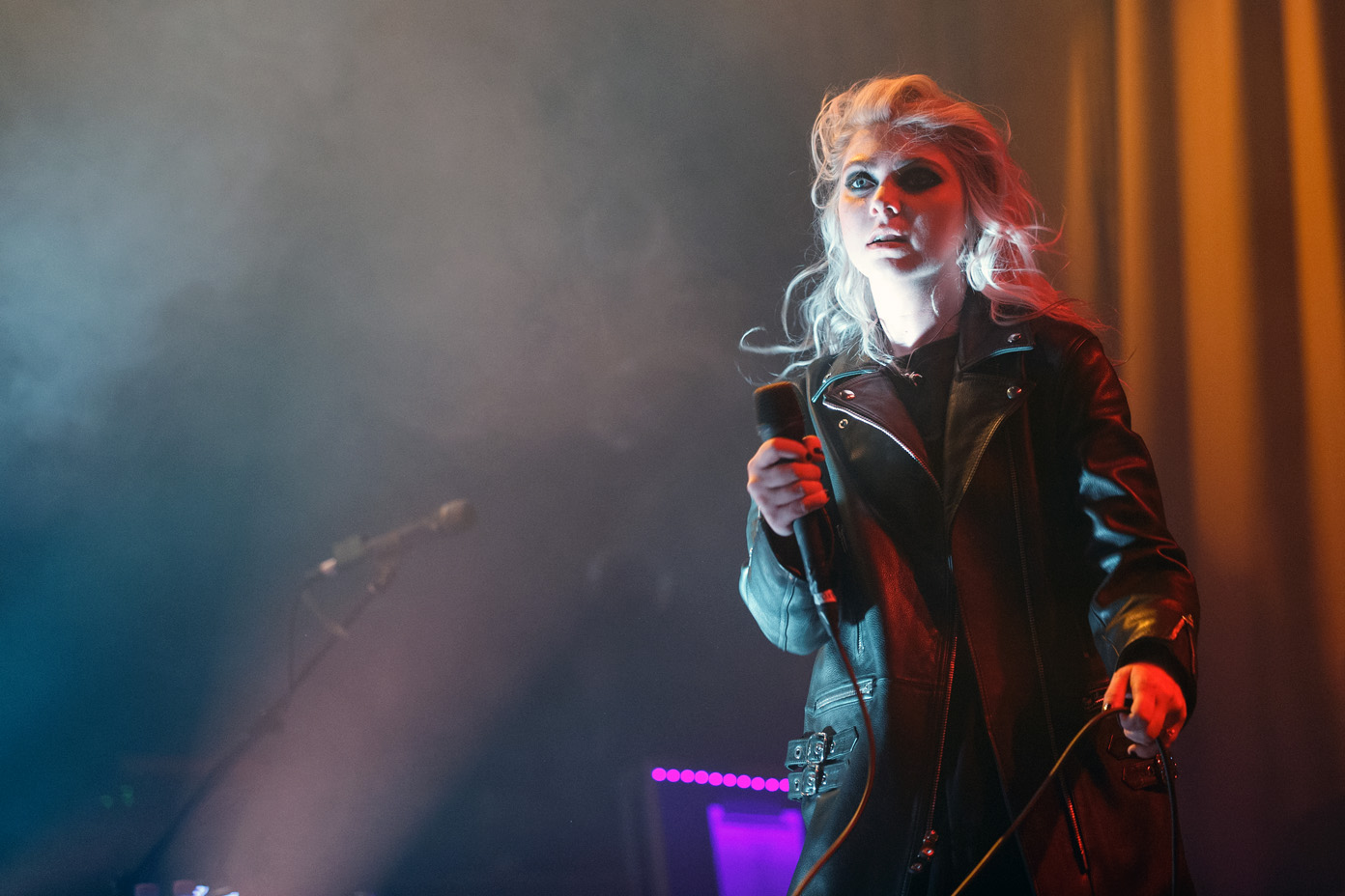 The Pretty Reckless' Taylor Momsen on stage at the O2 Ritz