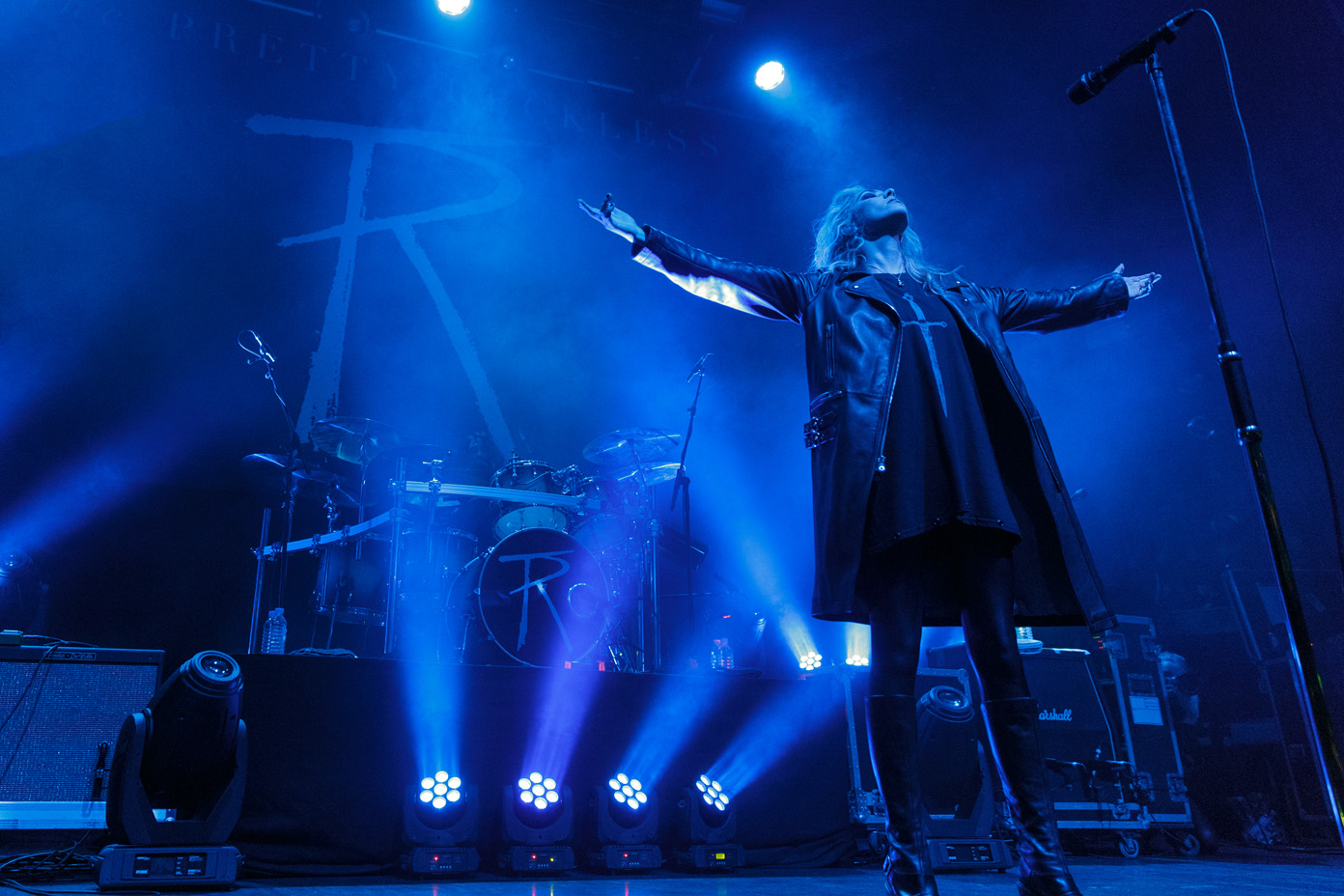 The Pretty Reckless on stage at the O2 Ritz in Manchester