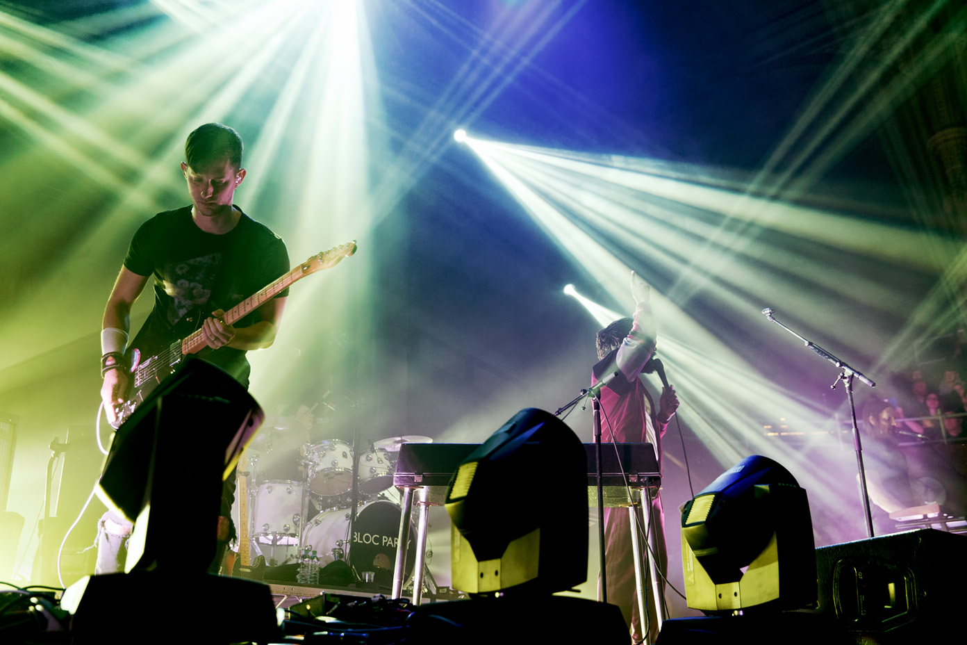 Bloc Party headline at the Albert Hall Manchester on 8 February 2017