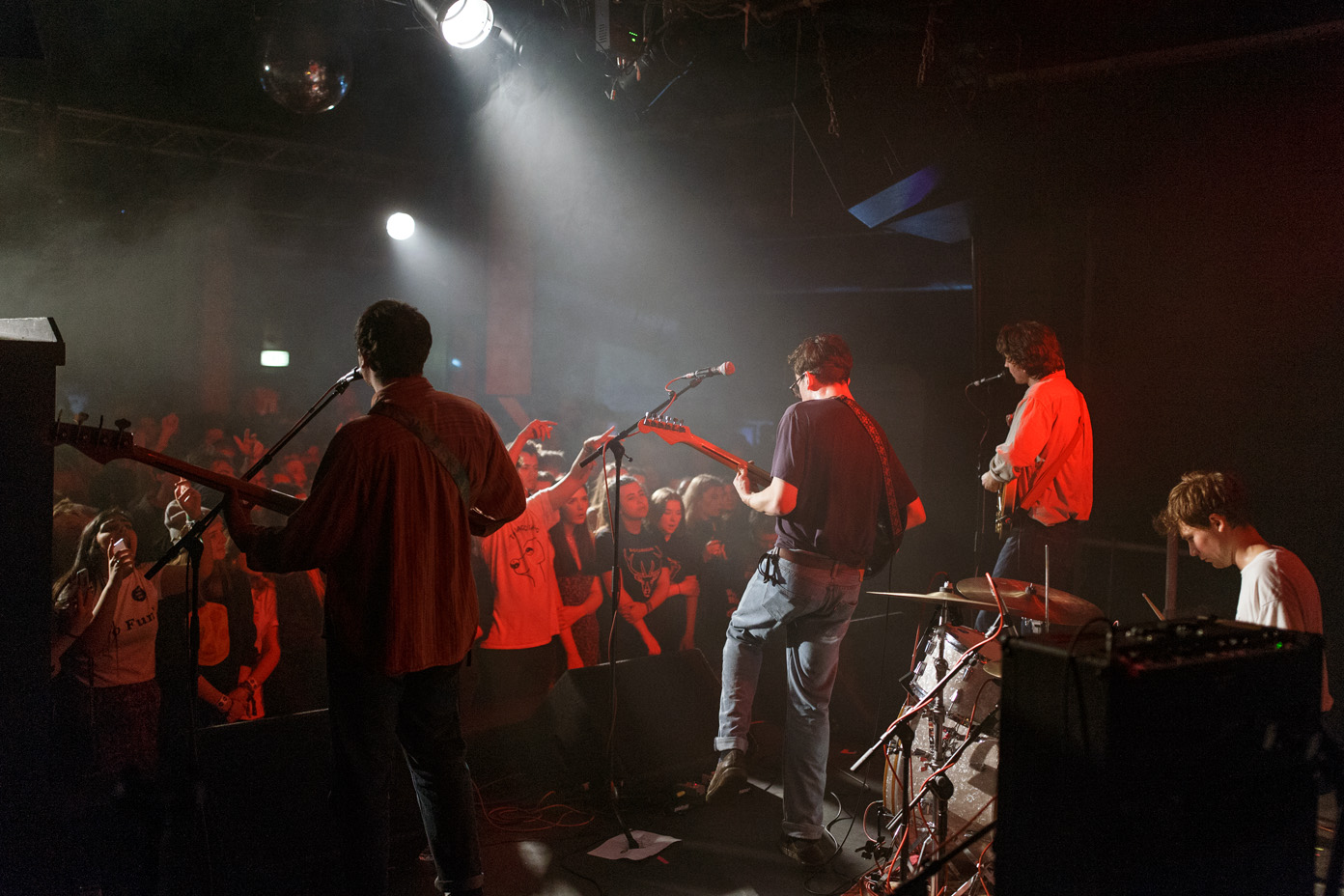The Magic Gang performing at Plug in Sheffield on 15 October 2016