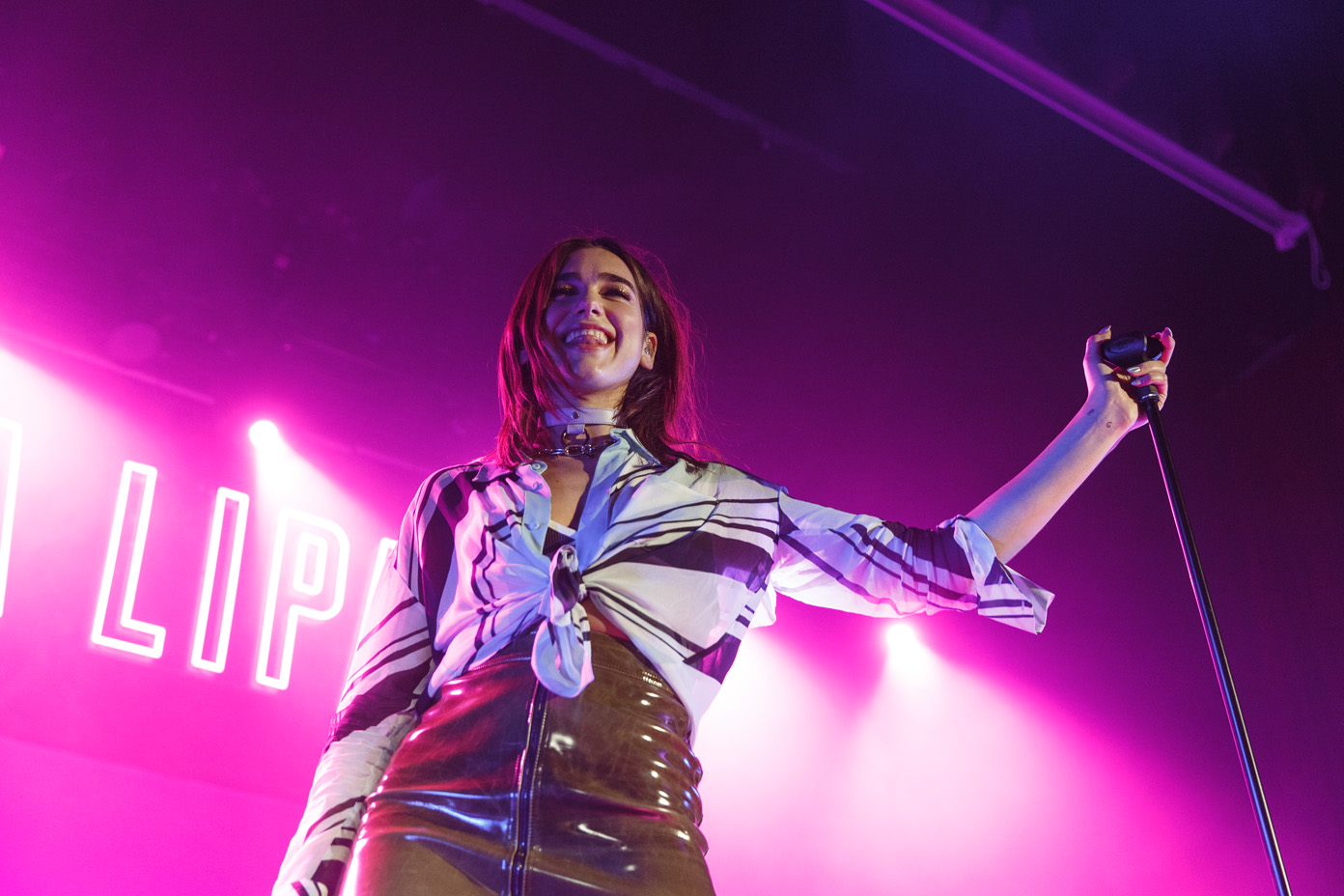Dua Lipa on stage at the O2 Ritz Manchester on 12 April 2017. Photo: Katy BlackwoodDua Lipa on stage at the O2 Ritz Manchester on 12 April 2017. Photo: Katy Blackwood