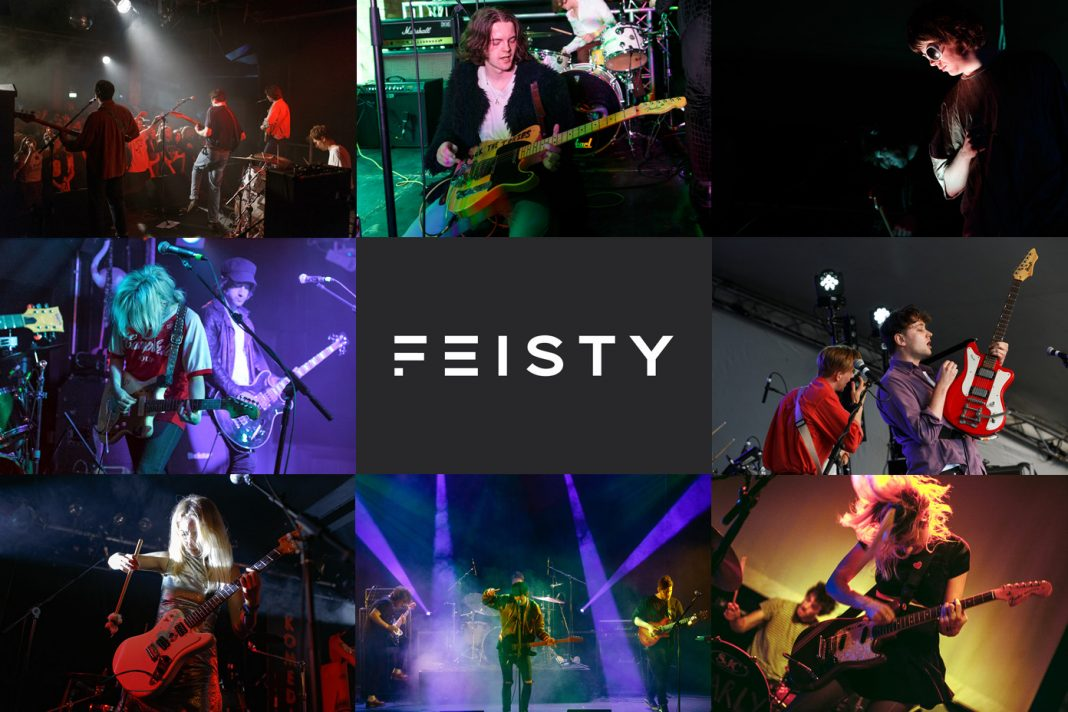 Some of the bands in FEISTY Playlist 2