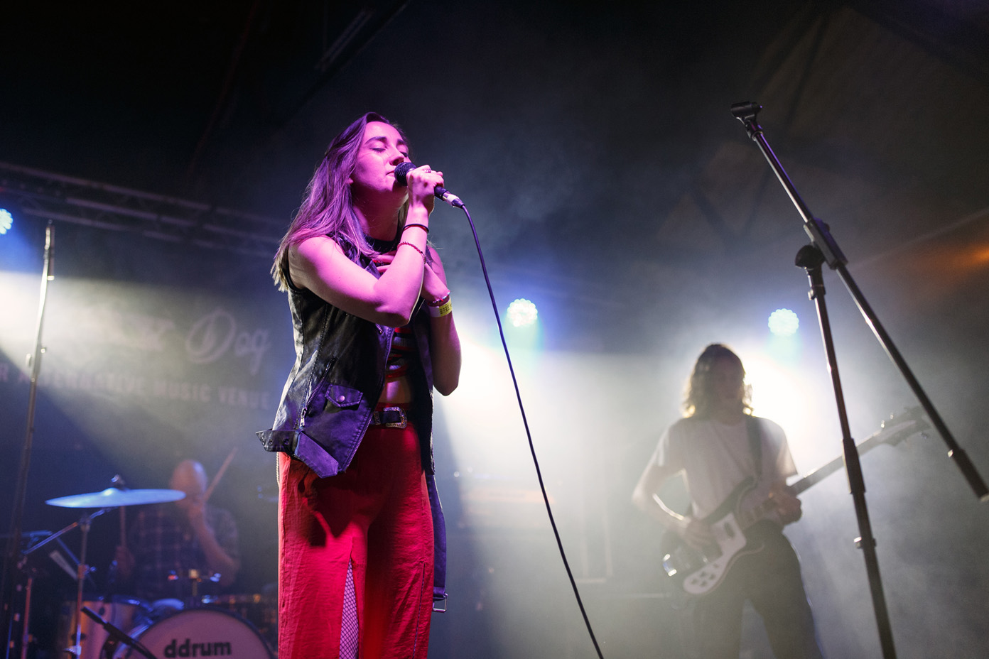 Yonaka performing live at the second annual 2Q Festival on 1 April 2017. Photo: Katy Blackwood