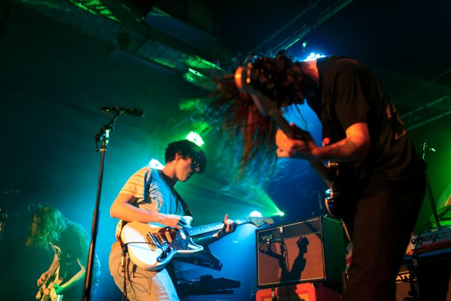 Get Inuit on stage at Sound Control in Manchester on 12 May 2017. Photo: Katy Blackwood