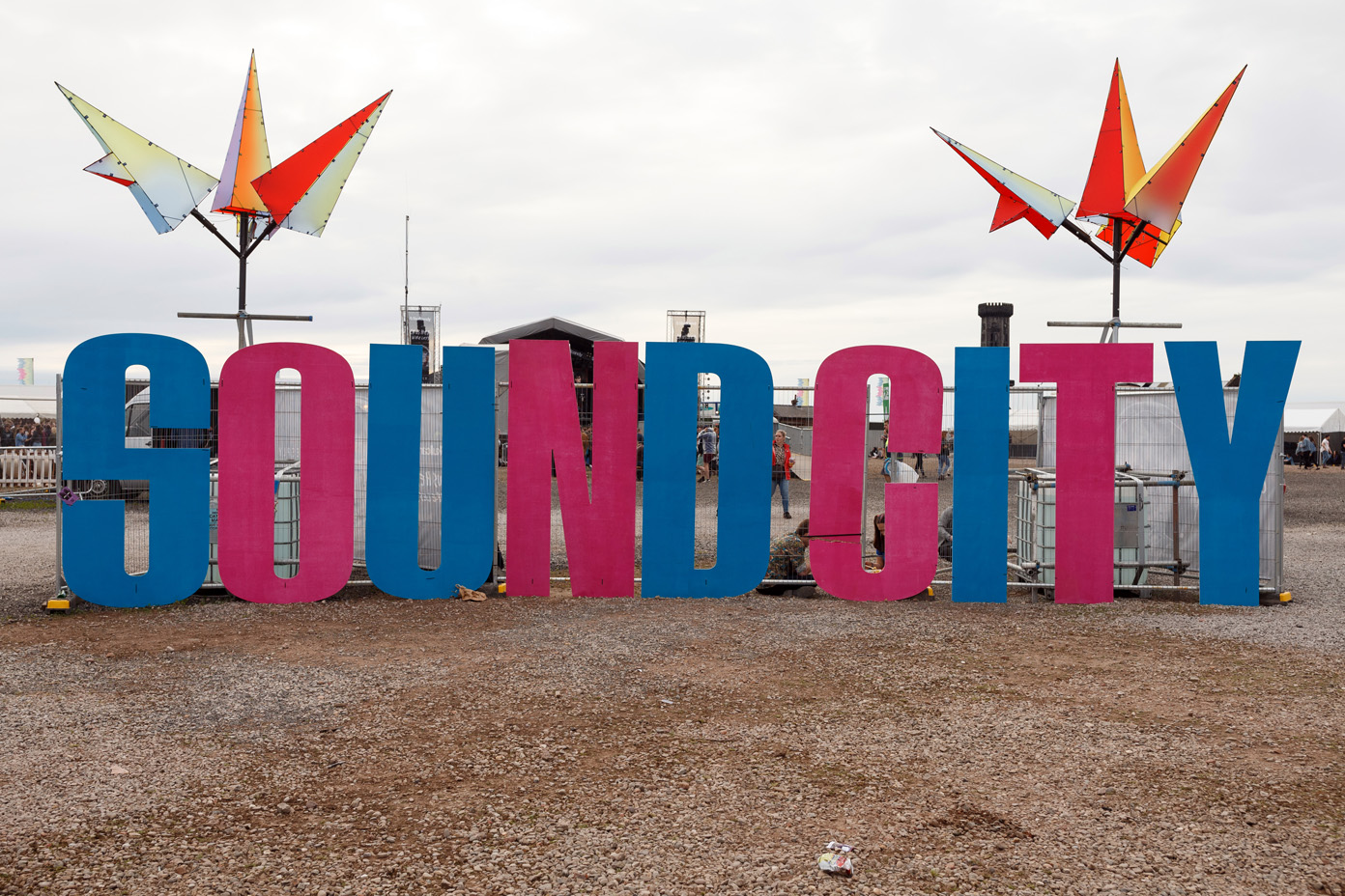 The new festival site of Liverpool Sound City featured many changes from 2016. Photo: Katy Blackwood